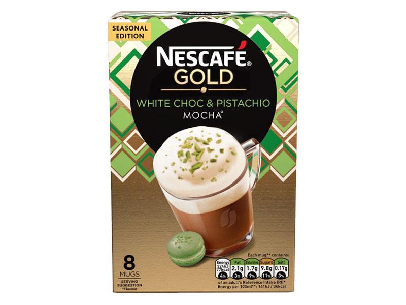 Nescafé Gold White Choc & Pistachio Mocha