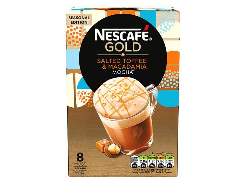 Nescafé Gold Salted Toffee Macadamia Mocha