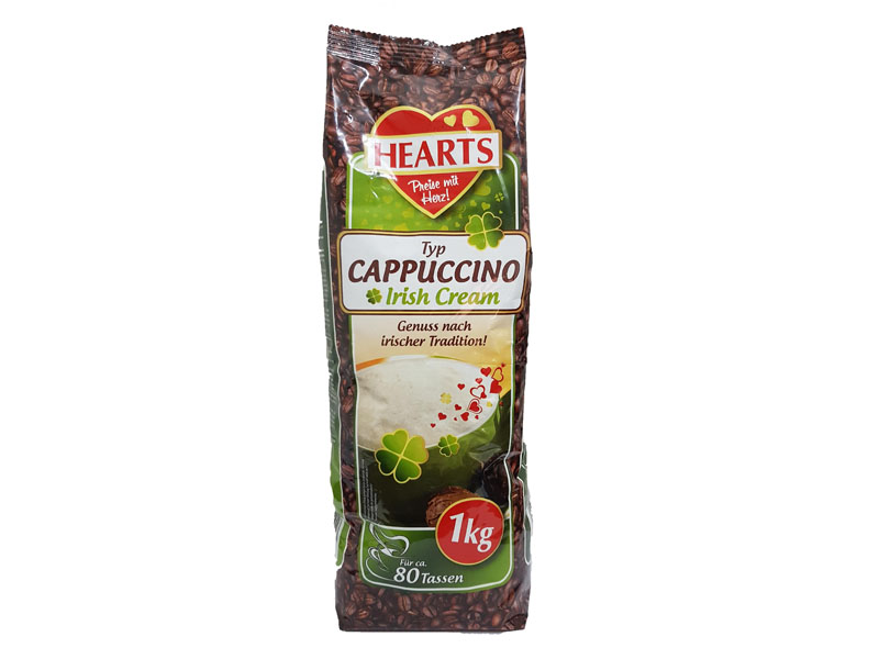 Hearts Cappuccino Irish Cream