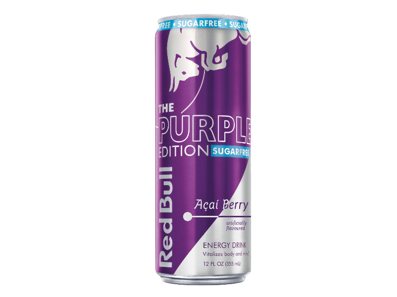 Red Bull Purple Edition Energy Drink