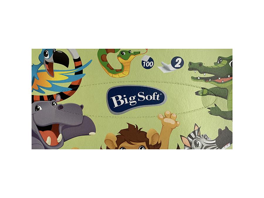 Big Soft Gezichtstissues - Dieren