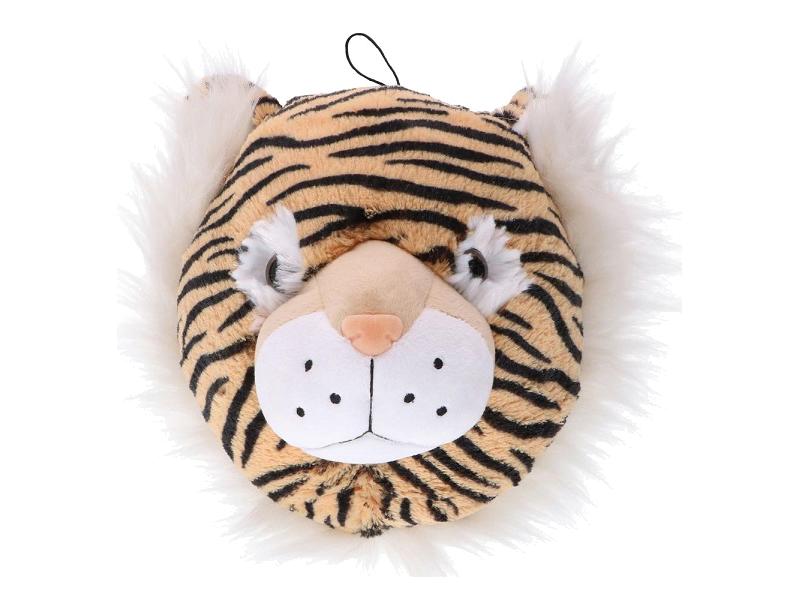 Dierenkop pluche tijger