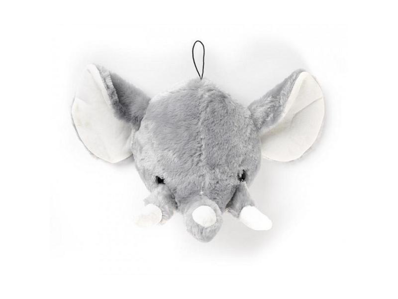 Dierenkop pluche olifant