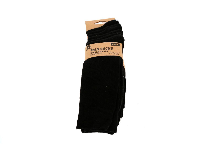 Zwarte Heren Sokken