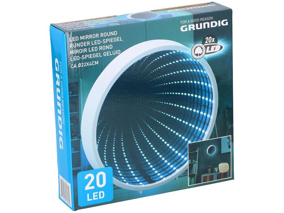 Grundig LED-Spiegel Oneindig