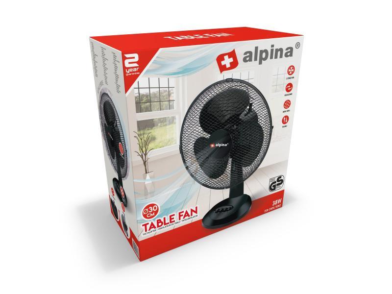 Alpina Tafelventilator 38W