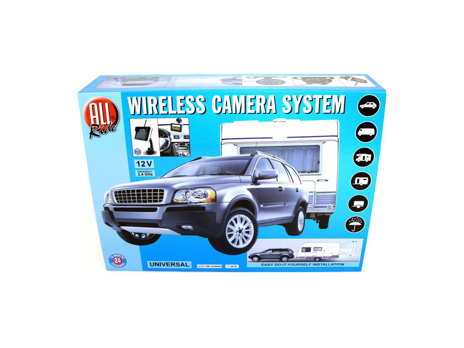 All Ride Wireless Camera System