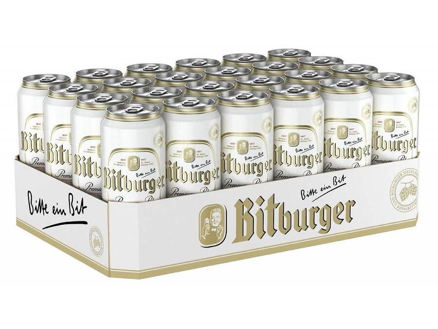 Bitburger Tray 500ml