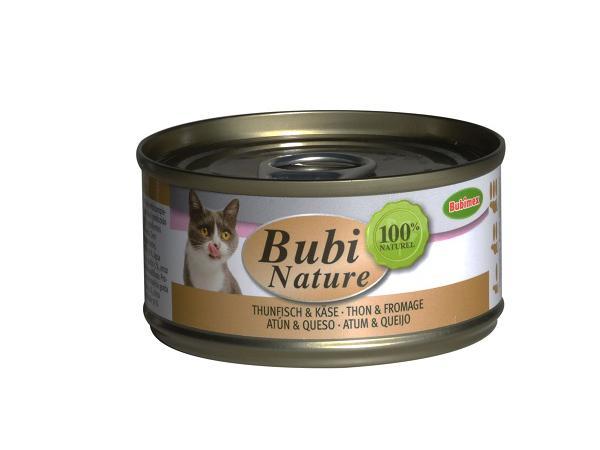 Bubi Nature Tonijn en Kaas 70g
