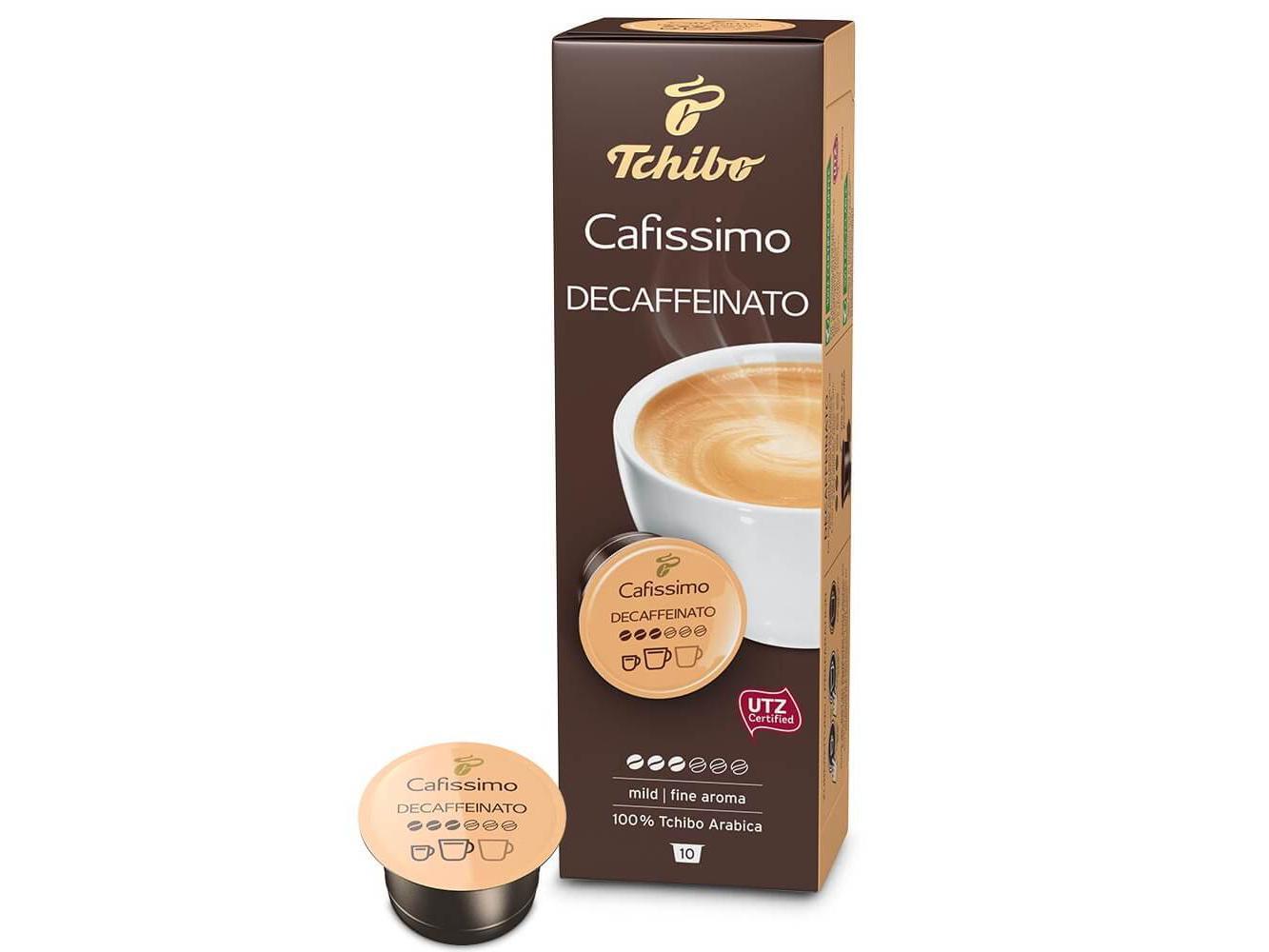 Tchibo Cafissimo Caffé Crema Cafeïnevrij