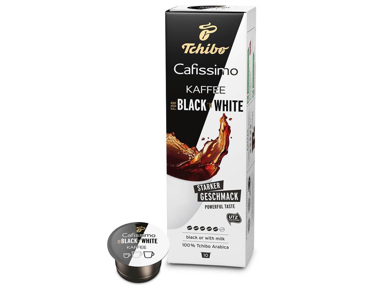 Tchibo Cafissimo Black & White