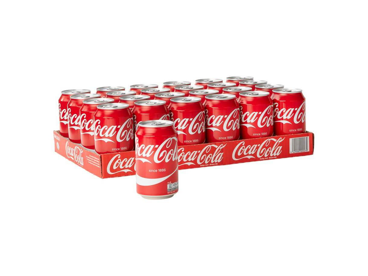 Coca Cola Tray 330ml