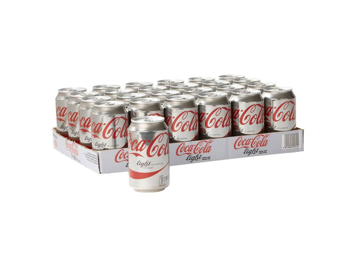 Coca Cola Light Tray 330ml