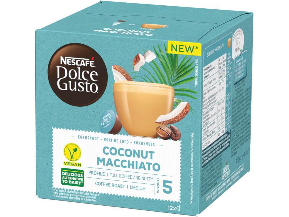 Dolce Gusto Coconut Macchiato