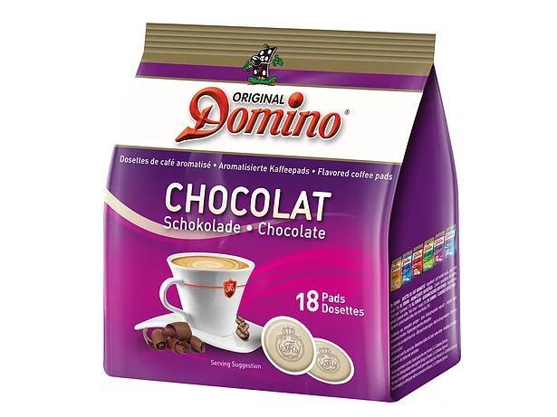 Domino Chocolat 18 Koffiepads