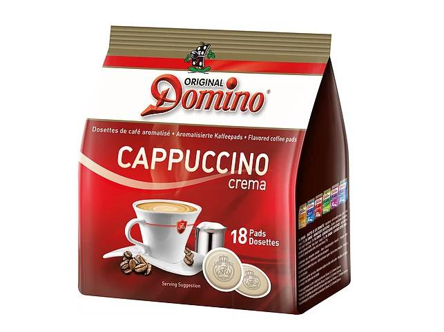 Domino Cappuccino 18 Koffiepads
