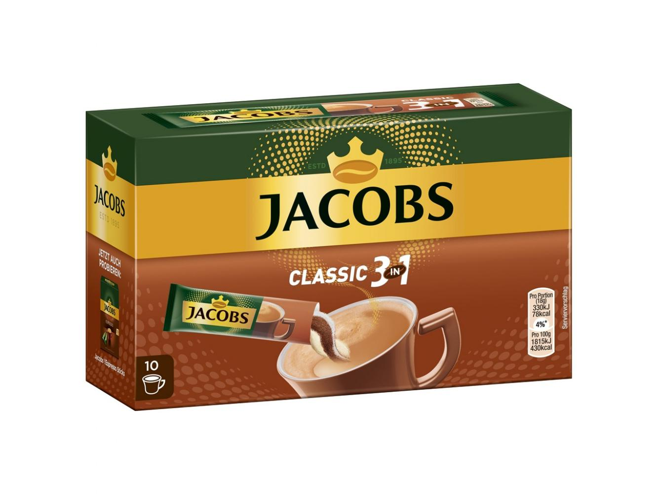Jacobs 3 in 1 Classic