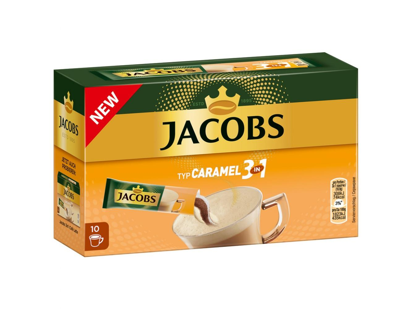 Jacobs 3 in 1 Caramel