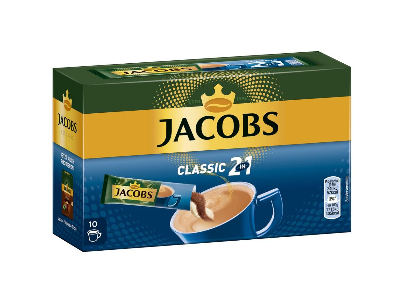 Jacobs 2 in 1 Classic