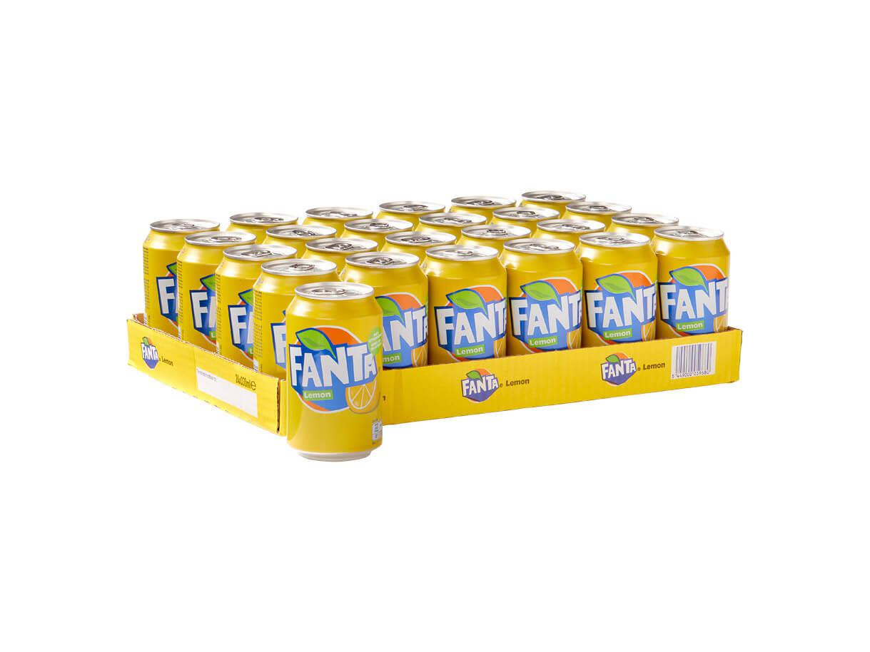 Fanta Lemon Tray 330ml