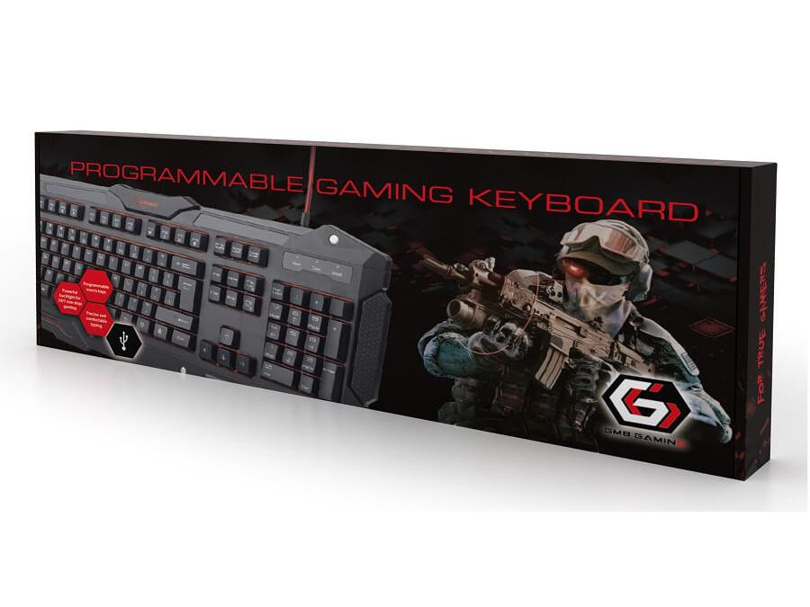 GMB Gaming Keyboard DE