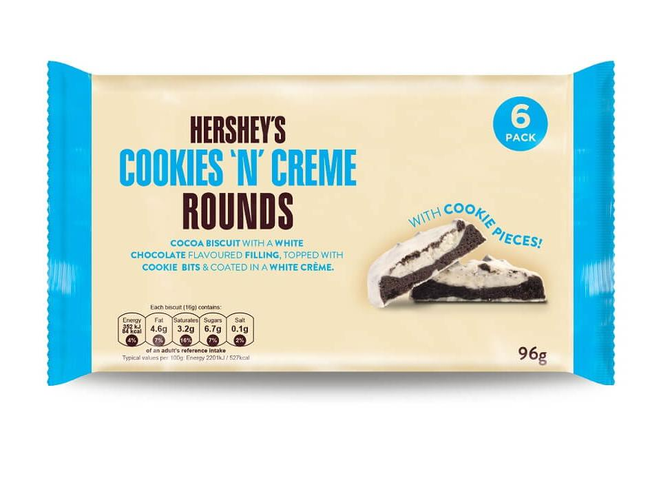 Hershey's Cookies 'N' Creme Rounds