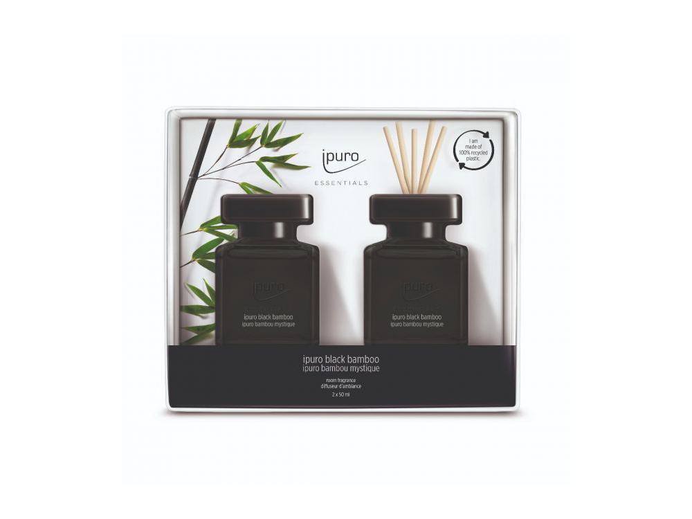 Ipuro Geurdiffuser Black Bamboo 2x50ml
