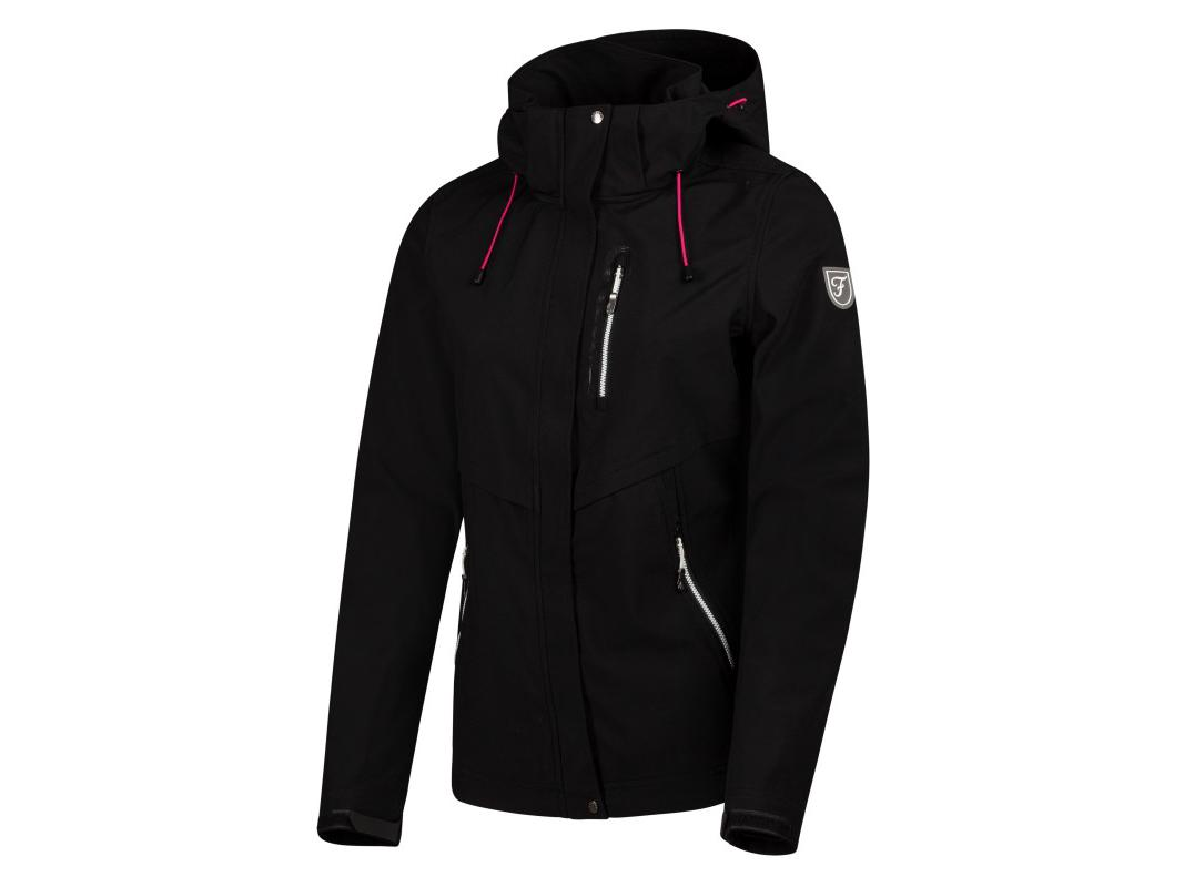 Falcon Gala Outdoor Jacket Zwart