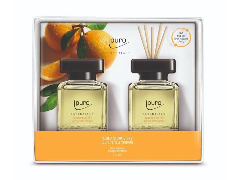 Ipuro Geurdiffuser Orange Sky 2x50ml