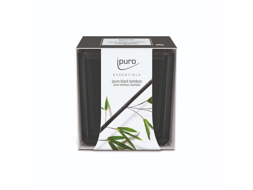 Ipuro Black Bamboo Geurkaars