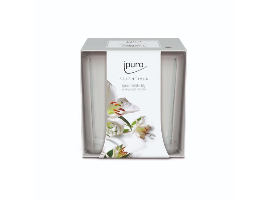 Ipuro White Lily Geurkaars