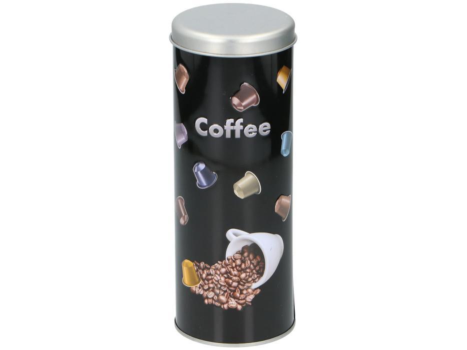 Koffiepads blik