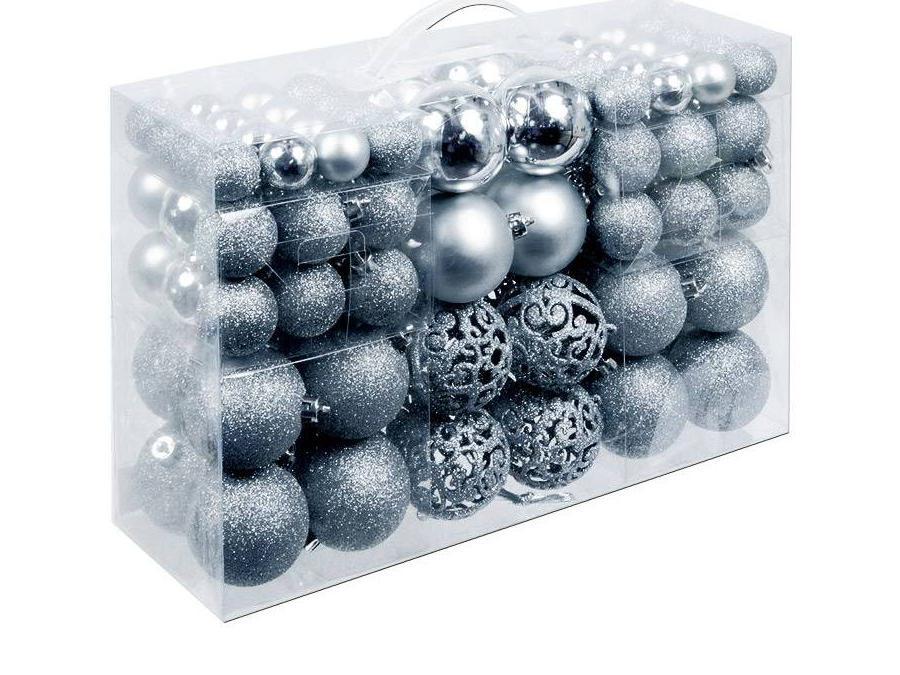 Kerstballenset 100 stuks