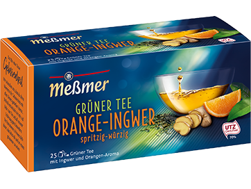 Meßmer Grüner Tee Orange Ingwer