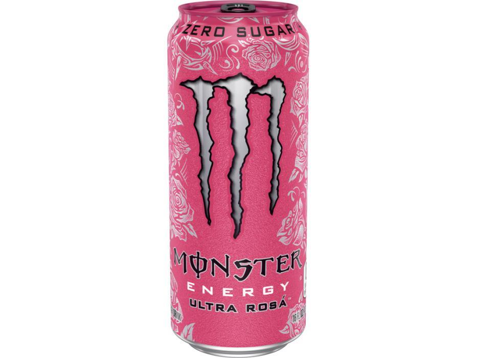 Monster Energy Ultra Rosa