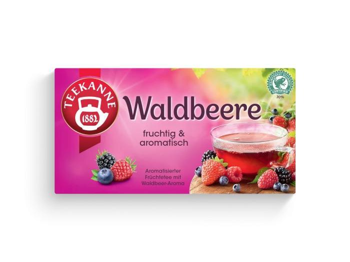 Teekanne Fruchtige Waldbeere
