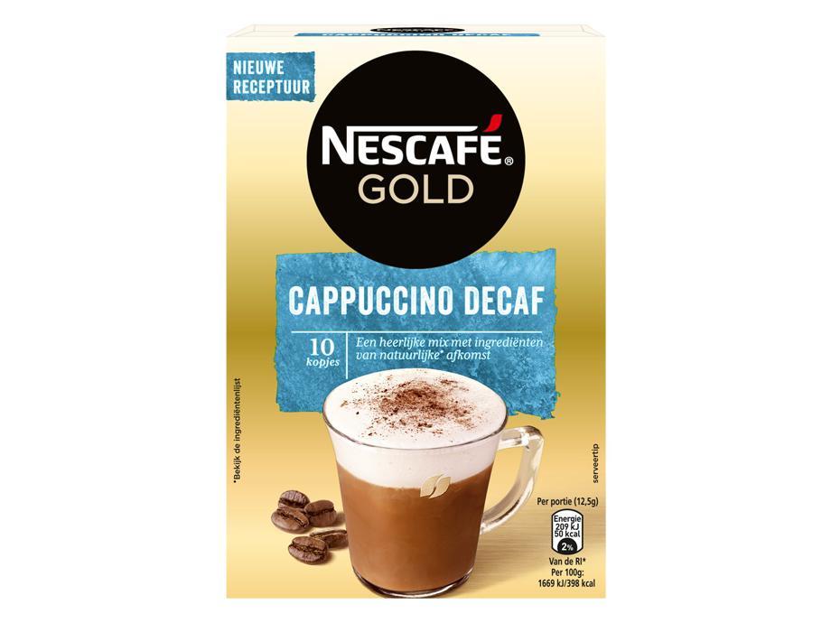 Nescafé Cappuccino Cafeïnevrij