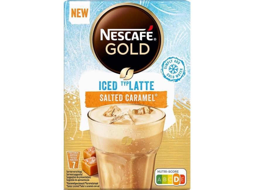 Nescafé Iced Latte Salted Caramel