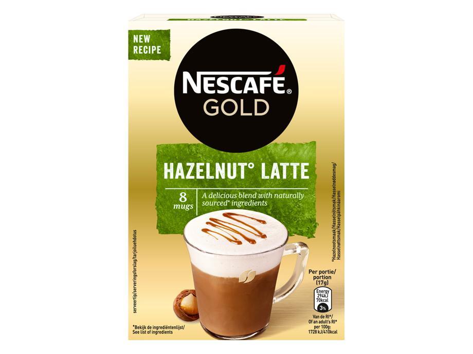 Nescafé Hazelnut Latte