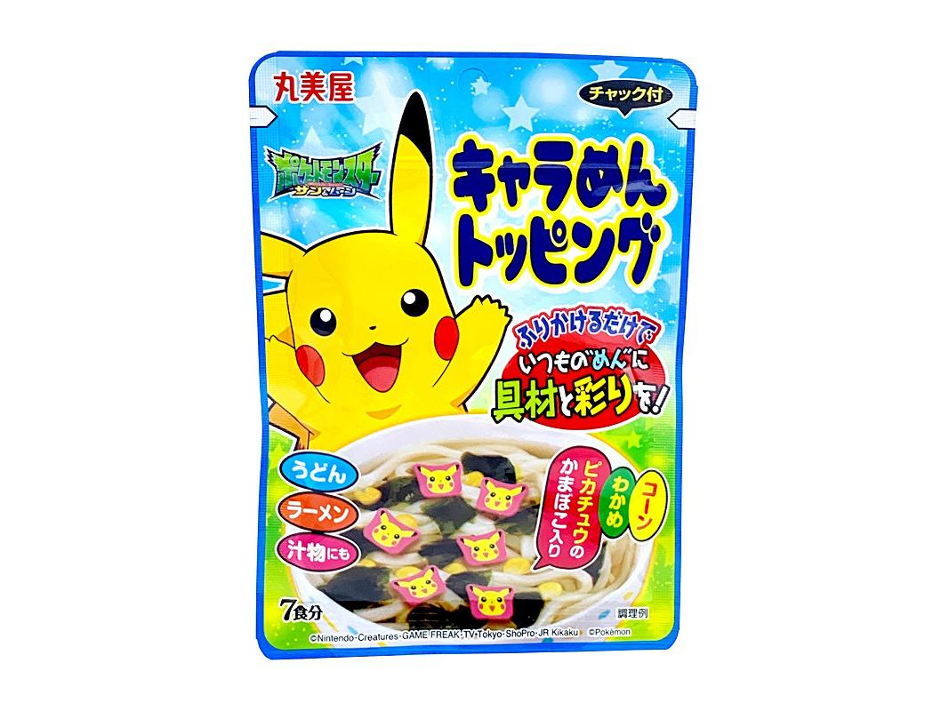 Pokemon Noodle Topping
