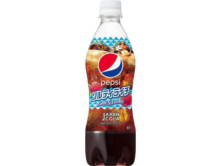 Pepsi Japan Cola Salt & Litchi