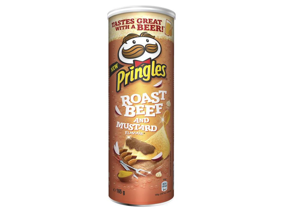 Pringles Roast Beef & Mustard