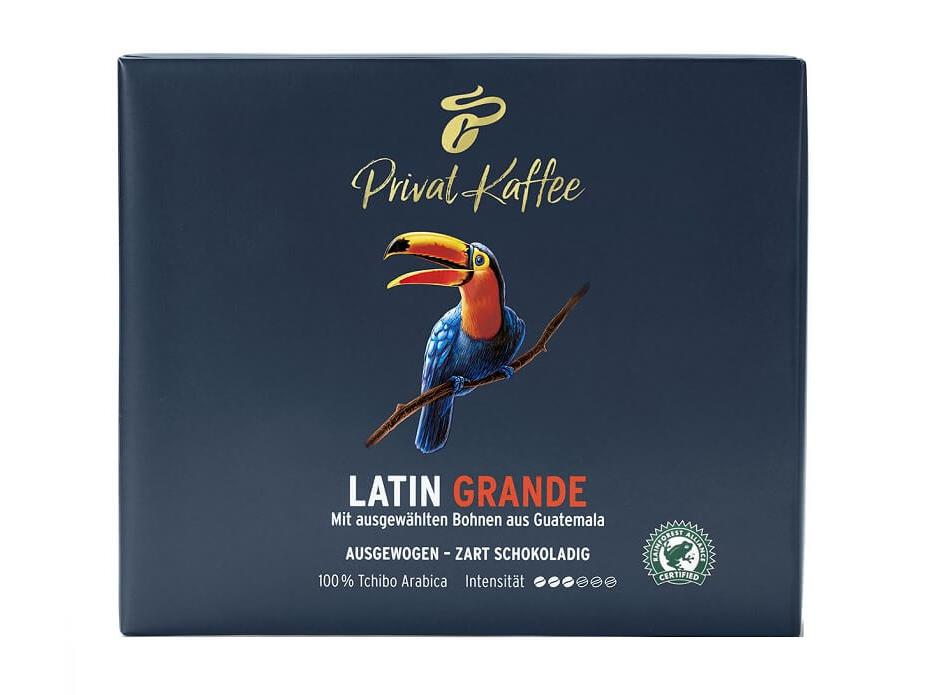 Tchibo Privat Kaffee Latin Grande Filterkoffie
