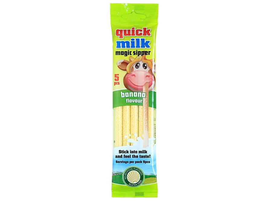 Quick Milk Magic Sipper Banana