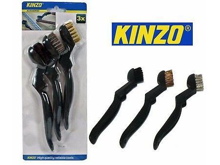 Kinzo Staalborstel set