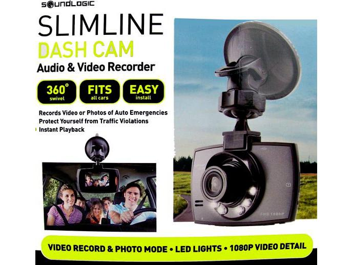 Soundlogic Slimline Dash Cam