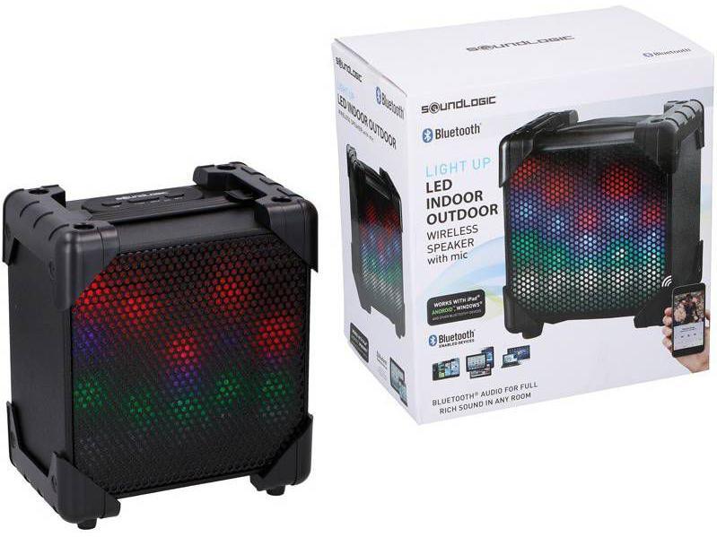 Soundlogic Draadloze Led Speaker
