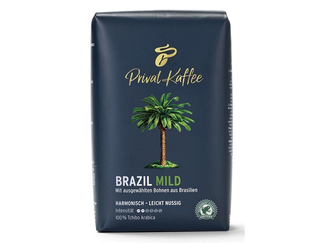 Tchibo Privat Kaffee Brazil Mild Koffiebonen