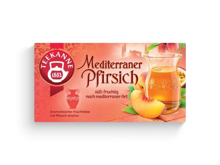 Teekanne Mediterraner Pfirsch