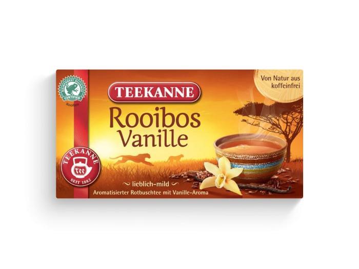 Teekanne Rooibos Vanille